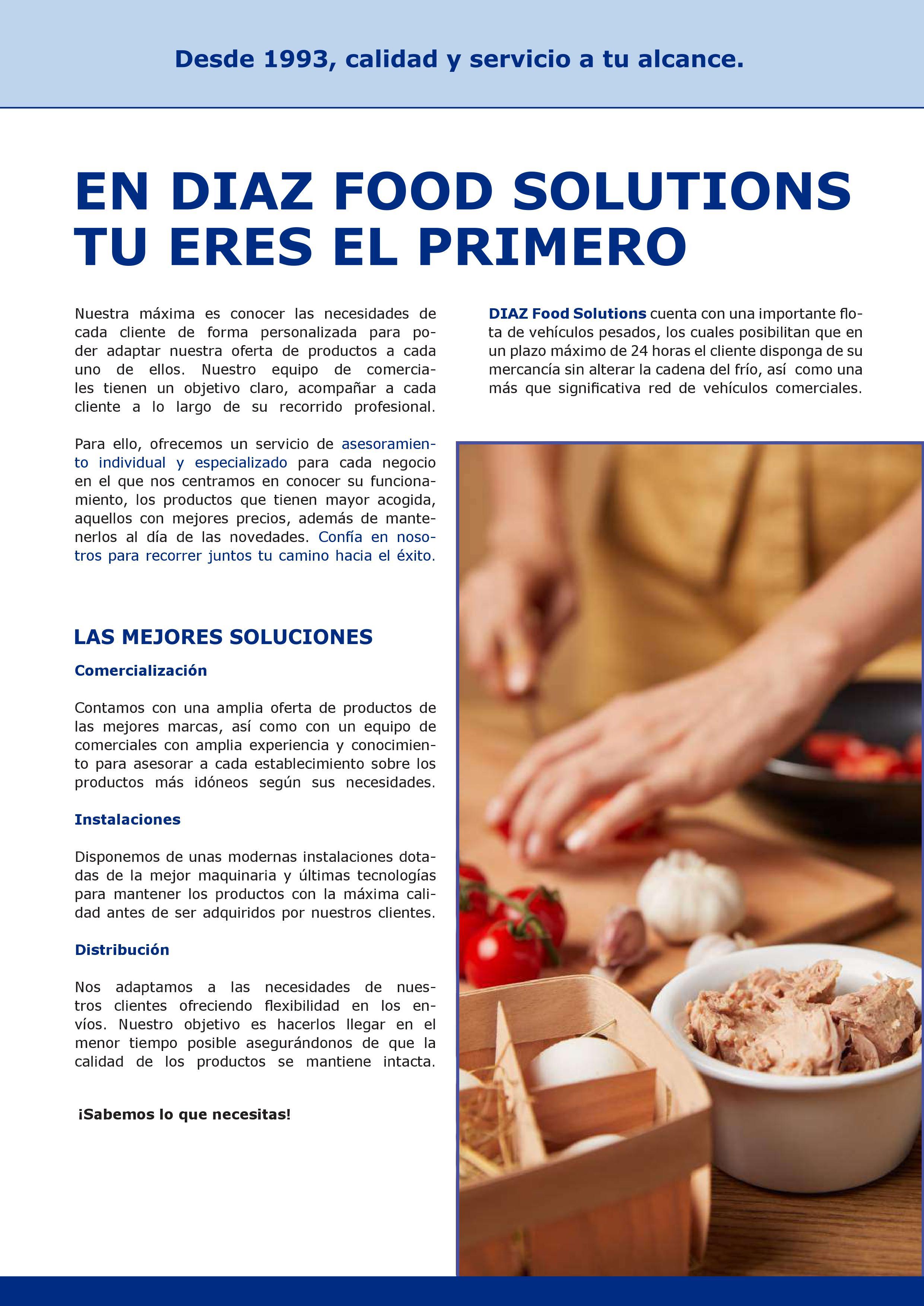 Revista Marzo - Mayo - Díaz Food Solutions